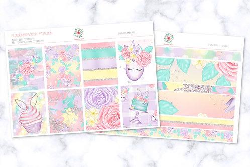 Cuddle Bunny Sticker Kit - EC Weekly Kit
