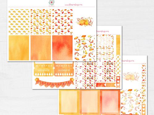 Autumn Falls Sticker Kit - EC Weekly Kit