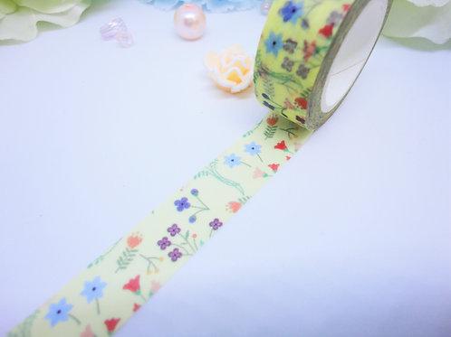Spring Flowers Washi Tape