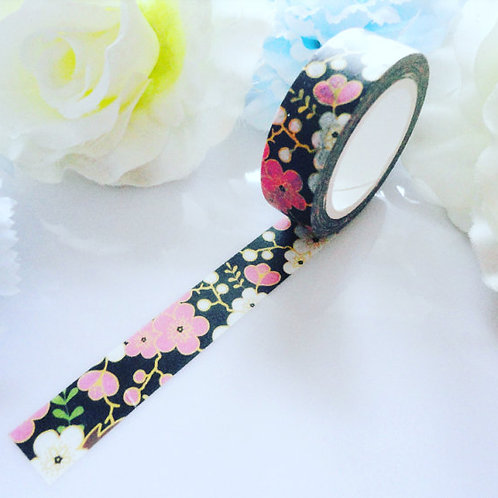 Night Blossom Washi Tape