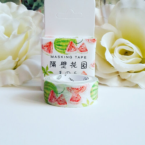 Watercolour Watermelon Washi Tape