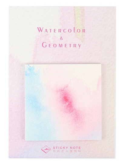 Watercolour Sticky Notes