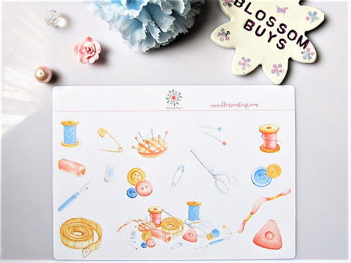 Sewing Decor Sheet