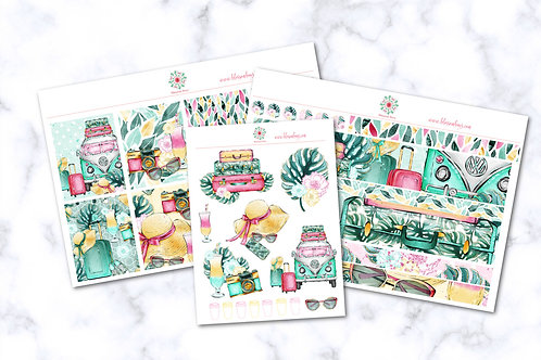 Summer Vacation Sticker Kit - EC Weekly Kit