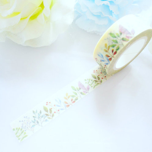Pretty Leaves Garden Washi Tape