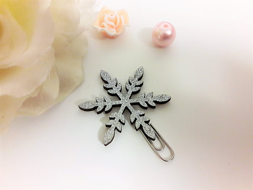 Snowflake Planner Clips