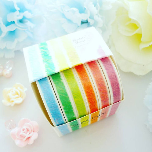 Crayon Washi Tape Set