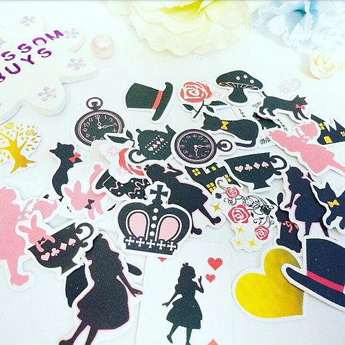 Wonderland Planner Stickers