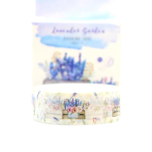 Lavender Garden Washi Tape