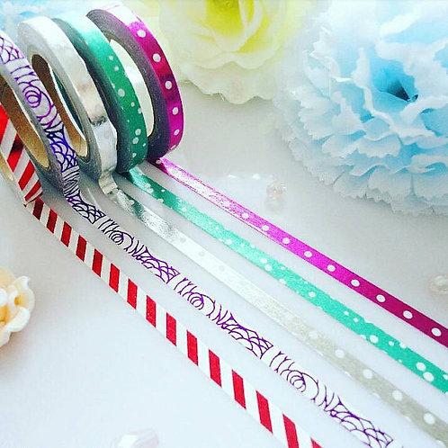 Foil Washi Tape Set
