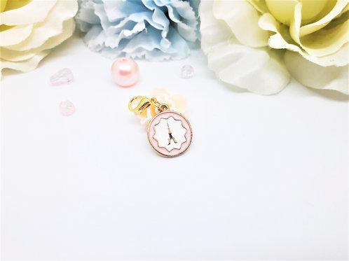 Pink Paris Planner Charm