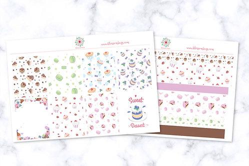 Cake Shop Sticker Kit - EC Weekly Kit