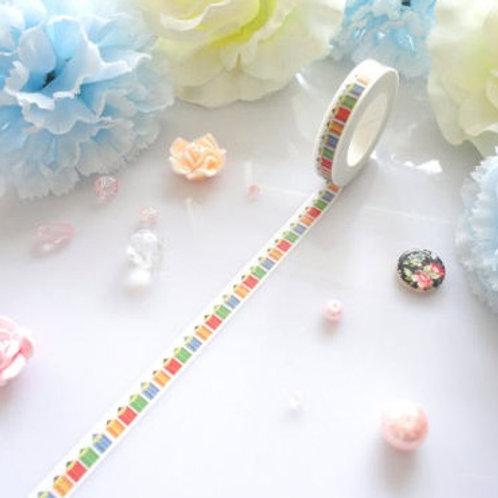 Colour Pencils Washi Tape