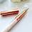 Thumbnail: Rose Gold Gem Pen