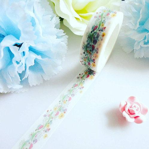Flowers Vines Washi Tape