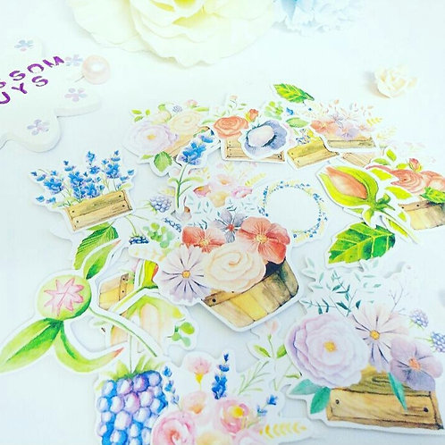 Pretty Flower Stickers