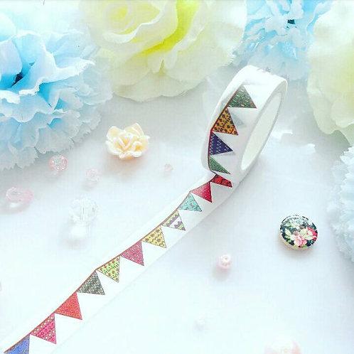 Patterns Bunting Washi Tape