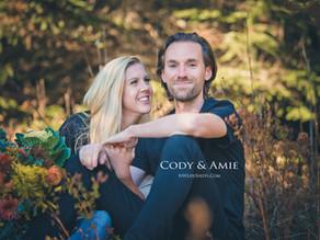 Cody & Amie at Gold Creek Pond