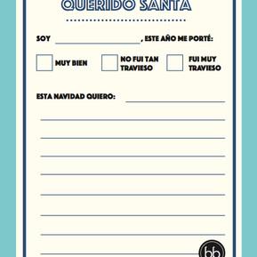 Escribir la carta para Santa Claus
