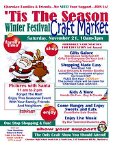 Cherokee Winterfest Craft Show 11 21 202