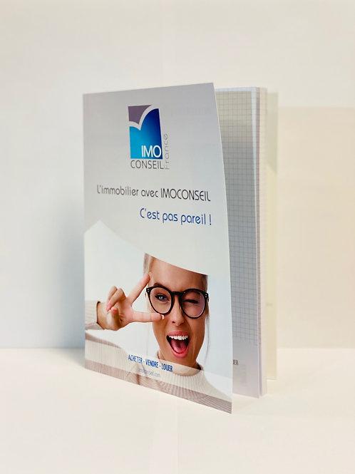 NoteBook 160 Pages détachables