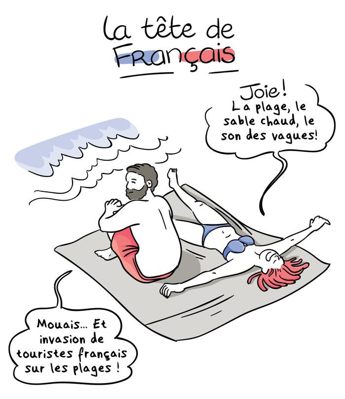 La tête de Français - Les couples mixtes