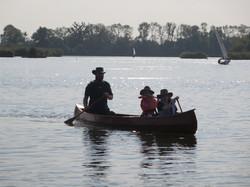Lakelander stich and tape canoe