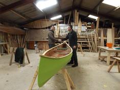 canoe built in 4 days