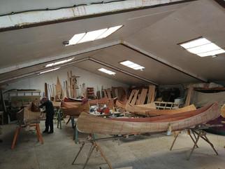orca canoe building