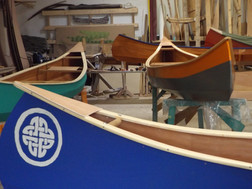 painted canoes
