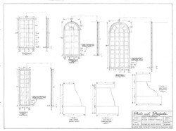 """1/2"""" Scale Hand Draftings for Windows"""