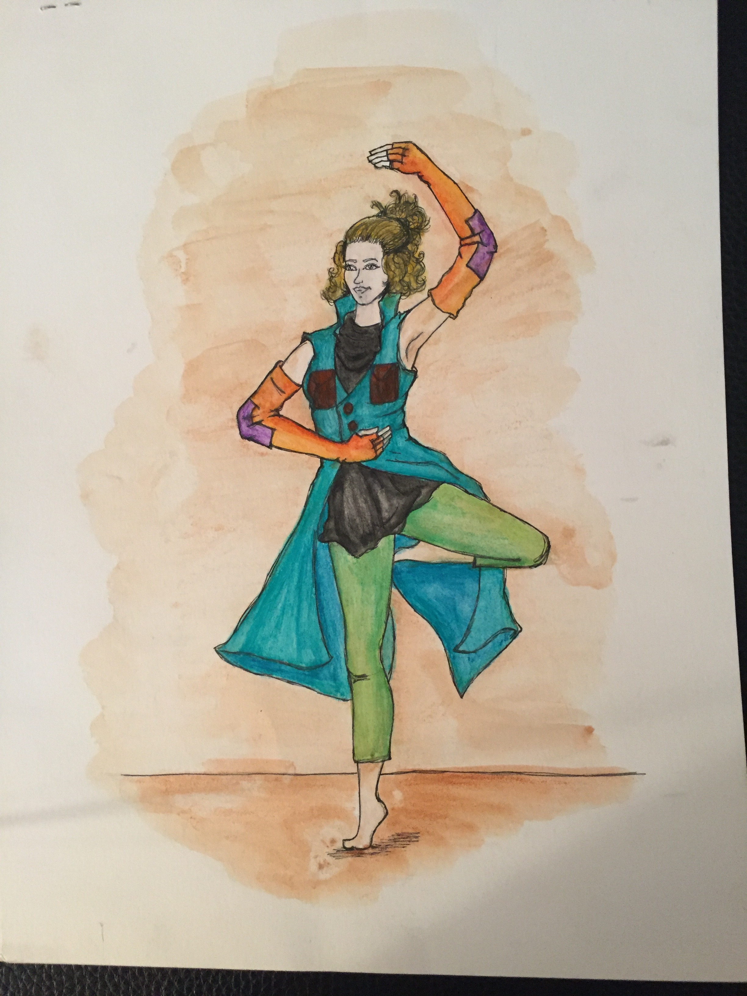 Dance Costume Rendering