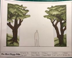 Tree Flats Paint Elevation