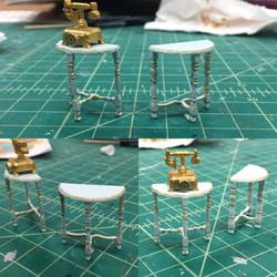 "1/2"" Scale Model Pieces"