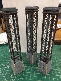 Detailed Model Pieces