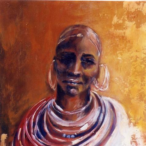 Femme Masai. Kenya