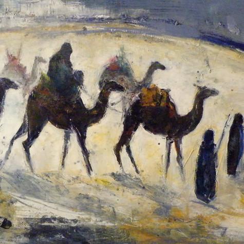 Caravane du désert