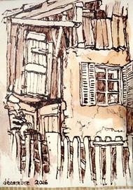 La vieille maison en bois