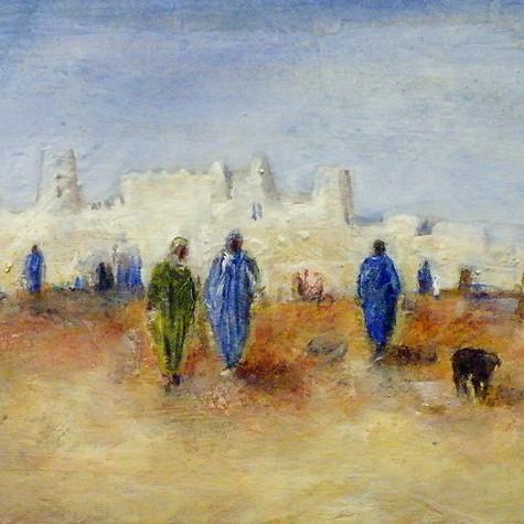 Maroc, ville du désert