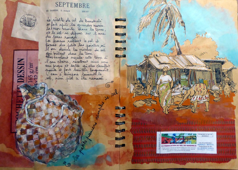 Mayotte récolte du sel
