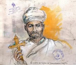 Portrait prêtre yemrehana