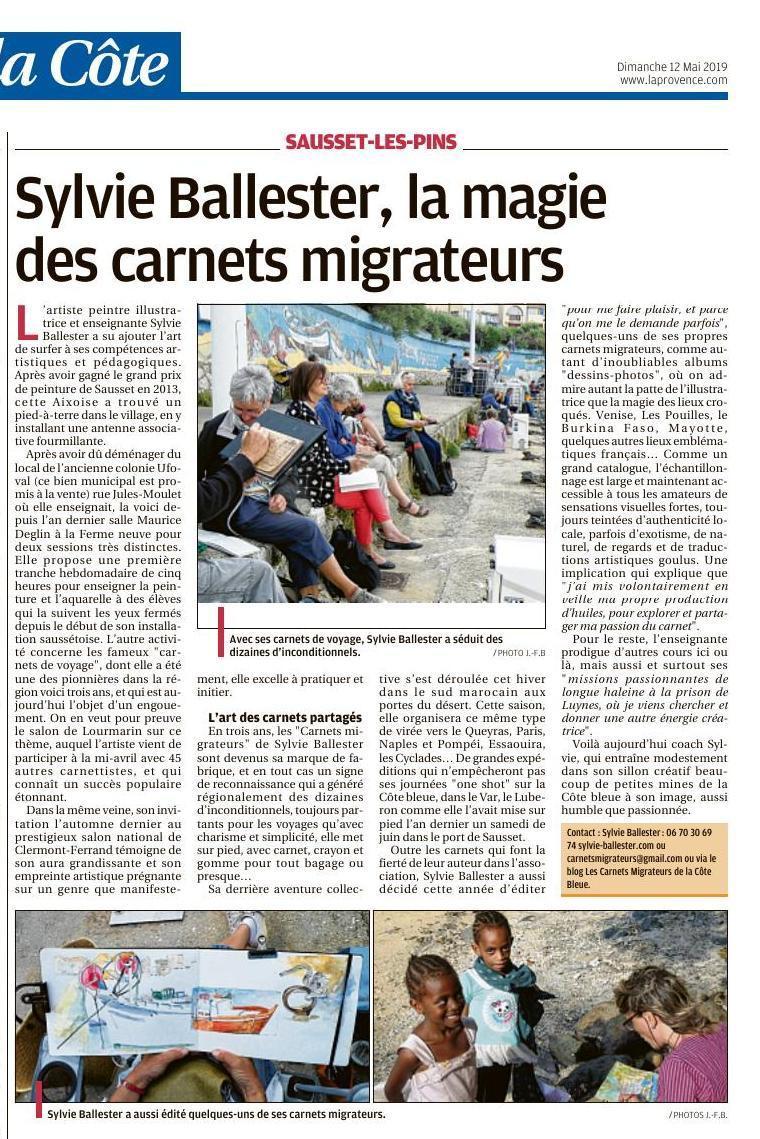 """La magie des """"Carnets migrateurs"""""""