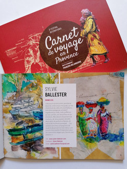 Carnet de voyage en Provence