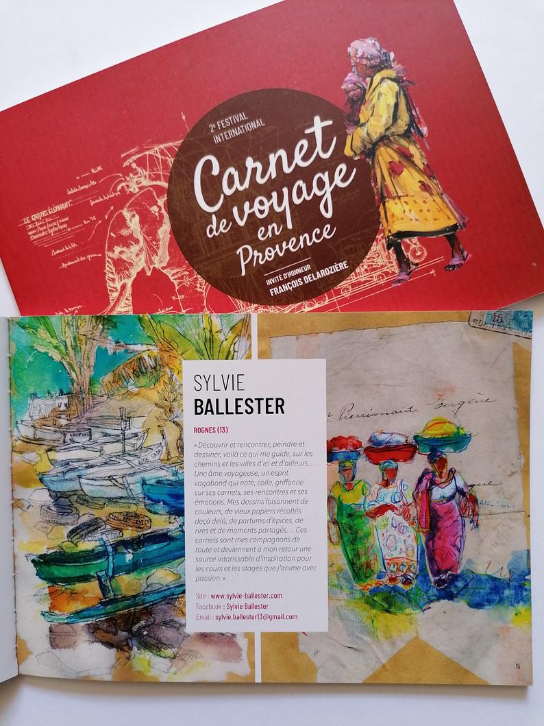Festival Carnet de voyage en Provence