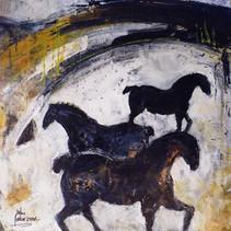Transhumance de chevaux