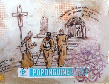 Moines à Poponguine