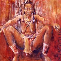 Femme de Namibie