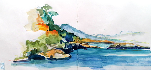La baie à Marechiaro