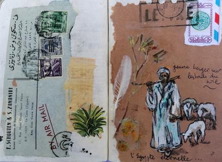 Jeune berger au bord du Nil