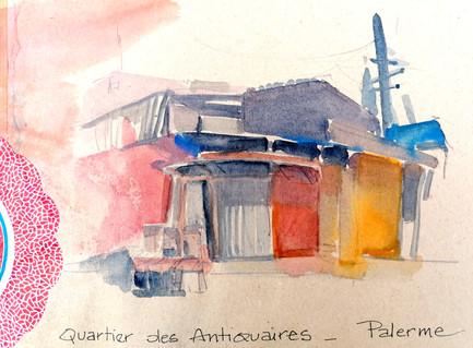 Quartier des antiquaires